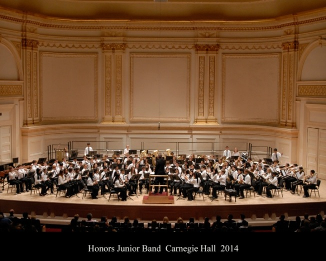Honors Junior Band 2014