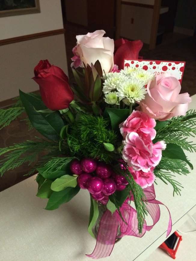 Chris sent these to me at work on our 20th anniversary!